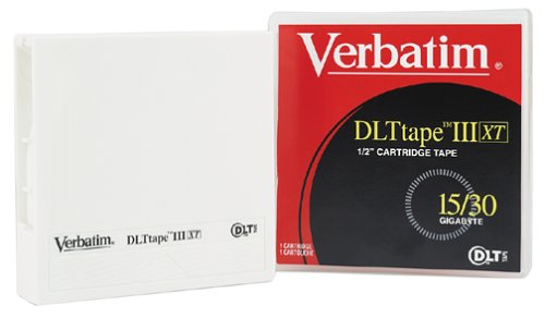 Verbatim 15/30GB DLT IIIXT Cartridge 1-Pack by Verbatim