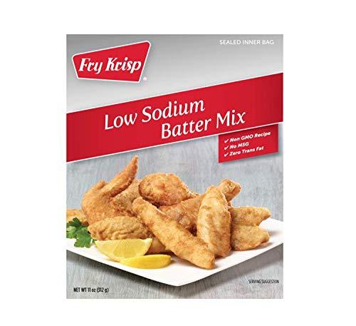 Low Sodium Batter Mix (6 boxes 12 oz each) by Fry Krisp
