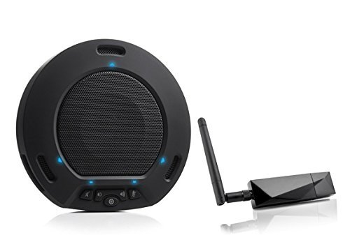 Huddlepod Air   Wireless Audio Conferencing   Black