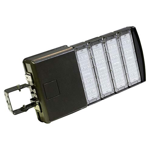 Docheer 200W LED Parking Lot Lights Area Lighting - LED Shoebox Pole Lights - 24000lm, 5300K - 700W MH/HPS Replacement - Outdoor Road Street Security Lighting Fixture - AC100-277V - Trunnion Mount ()