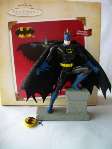 1 X 2004 Hallmark Ornament The Caped Crusader Batman