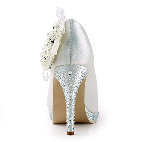 Col Minitoo Scarpe Donna Heel Tacco Ivory 10cm Tn5BSRwq