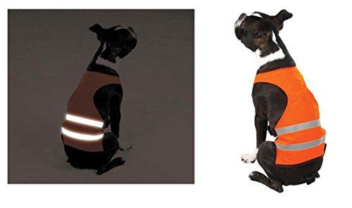 Guardian Gear Orange Reflective Dog Safety Vest Camp, Hunt, Night Walks Bright! Visibility!(Large Safety Orange) Review