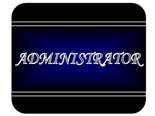 Job Occupation - Administrator Mouse Pad
