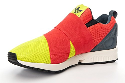 Adidas ZX Flux Slip On, semi solar yellow-hi-res red-bold onix semi solar yellow-hi-res red-bold onix
