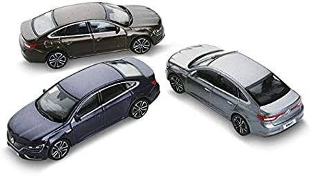Norev Renault Talisman Limousine Braun Ab 2015 1//64 Modell Auto mit individiuellem Wunschkennzeichen