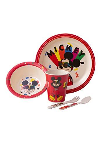 Mickey Shades 5 Piece Dinnerware Set Standard