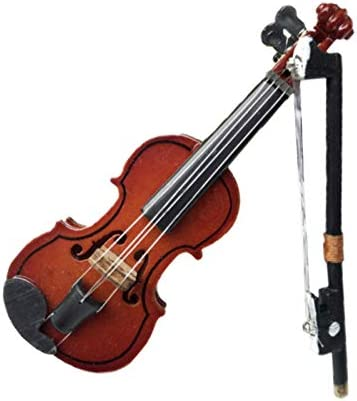 1:12 Doll House Miniature Music Instrument Violin Model-Room-Mini-Instrument