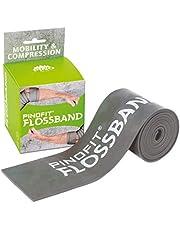 PINOFIT Flipband grijs in verschillende diktes flossenband therapieband 2 meter