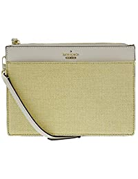 Kate Spade Women s Cameron Street Straw Clarise Cross Body Bag -  Natural Cement b8fca4b794