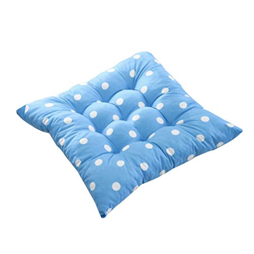 AckfulDurable Polka Dot Chair Cushion Garden Dining Home Office Seat Soft Pad 8 Colors (A) ()