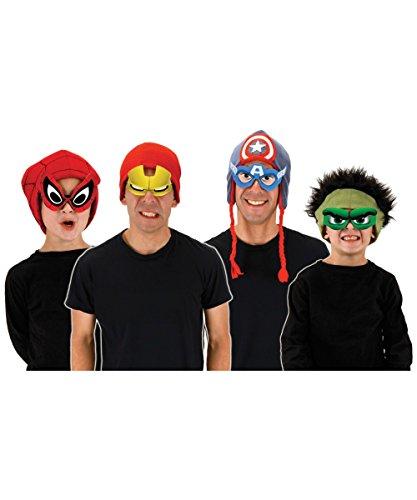 New Spiderman Costume For Sale (elope Men's Marvel Cartoon Eyes Glasses, Multi, One Size)