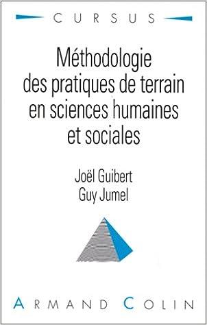 Livre Méthodologie des pratiques de terrain en sciences humaines et sociales pdf, epub ebook