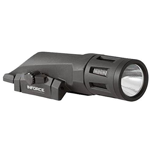 INFORCE WMLx, Weaponlight, Gen 2, Black Finish, Primary White Light by InForce