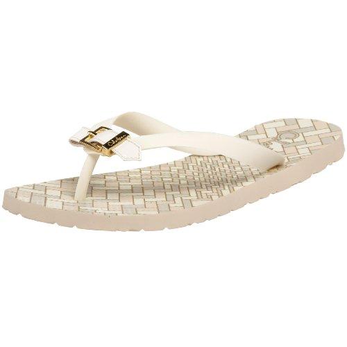Cole Haan Women's Lyndsey Thong Sandal,Ivory,11 B