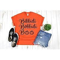 Disney Halloween Shirt T-Shirt for Women Girls Pumpkin Bibbidi Cinderella