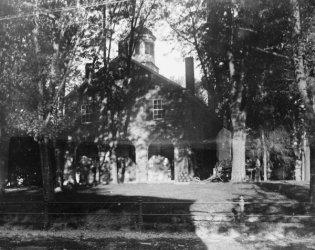 Fairfax Bar - 1920 photo Fairfax Courthouse, Virginia Vintage Black & White Photograph g4