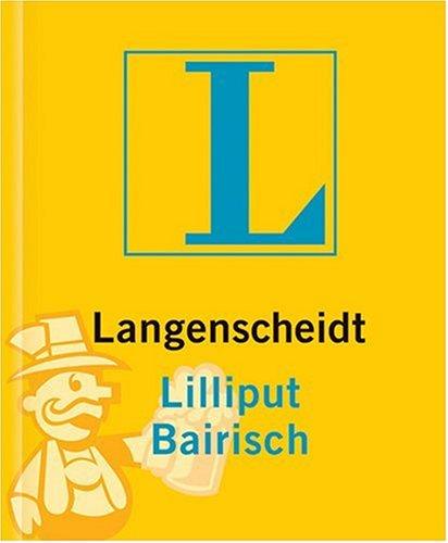 Langenscheidt Lilliput Wörterbücher, Dialektbände, Bairisch
