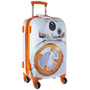 American Tourister Disney Star Wars All Ages 72594-4837 BB-8 Spinner Carry-on Expandable, International Carry-On