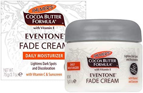 Palmer's Cocoa Butter Formula Eventone Fade Cream Daily Moisturizer for Dark Spots & Discoloration | 2.7 Ounces