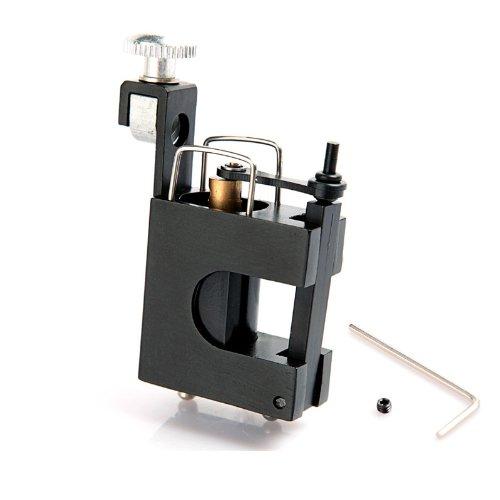 Silent Black Alloy Motor Rotary Tattoo Machine Gun for Needle Tattoo Supply (Silent Motor)