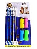 RosyLife Pet Dog Soft Toothbrush Dog Toothbrush Finger Toothbrush pet...