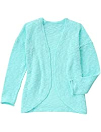 Gymboree Big Girls\u0027 Long Sleeve Aqua Cardigan