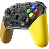 Replacement Shell for Nintendo Switch Pro Controller , Pokemon Lets Go Pikachu , Eevee Edition Replacement shell for for Switch Pro Controller