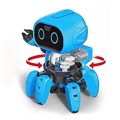 Hi-Tech First STEM Robot Kits DIY Mechanical Robot Building Set Boys, Girls, Kids, Children