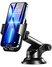 Car Phone Holder, Cocod-a 360° Rotate Long Arm Strong Sticky Cell Phone Holder Car Dashboard & Windshield, Car Phone Mount Compatible with iPhone 13 Pro Max/12/11/XS /XR/8, Samsung Galaxy S20/Note 10