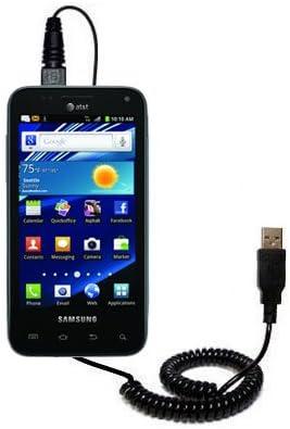 Samsung SGH-I927 Cable USB en Espiral de Hot Sinc y Carga de Gomadic: Amazon.es: Electrónica
