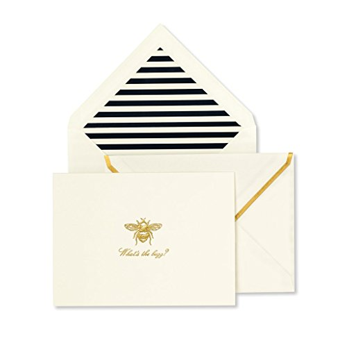 Bee Cards Note - Kate Spade New York Notecard Set - What's The Buzz?