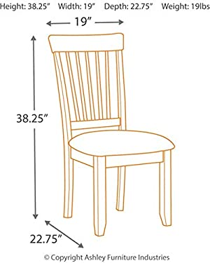 home, kitchen, furniture, kitchen, dining room furniture,  chairs 2 image Signature Design by Ashley - Berringer Dining Side Chair deals