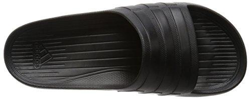 Black Cblack Sandals adidas Duramo Toe Unisex Open Slide X0STqY