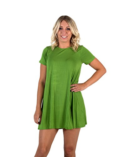 Animated TV Show Burger Cosplay Green Costume Dress (Medium) -