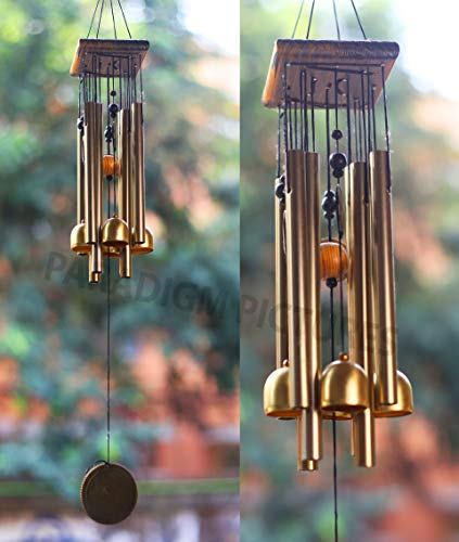 4 Bell 8 Pipe Wind Chimes Best Home Garden Decor Paradigm Pictures