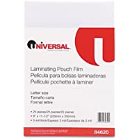 UNV84620 - Universal Clear Laminating Pouches