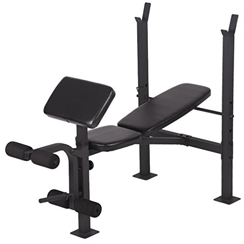 FDW Adjustable weight lifting multi-function bench fitness exercise strength workout by FDW