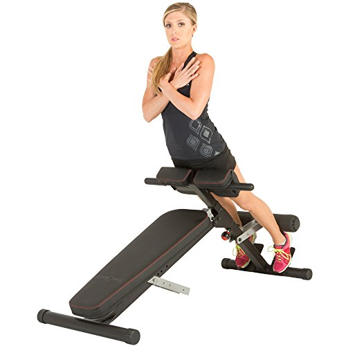 Fitness Reality X-Class Light Commercial Multi-Workout Abdominal/Hyper Back Extension Bench (Hyperextension Machine)
