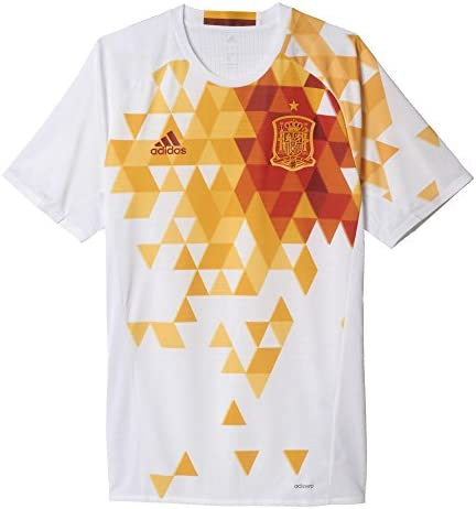 Adidas - Camiseta segunda equipación España UEFA EURO 2016 Authentic: Amazon.es: Zapatos y complementos