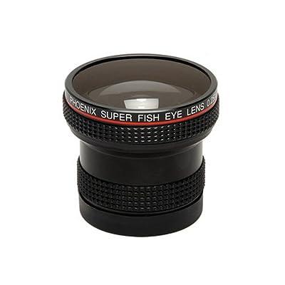 Phoenix 0.25X Super Fisheye Converter w/49,52,55 & 58mm adptrs. from Phoenix