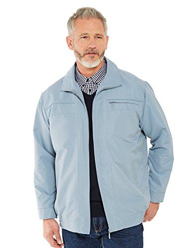 Herren selbst Moss Mikro Blouson Jacke Jacke Blau Medium (EU 50/52)