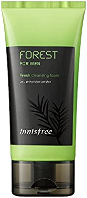 Innisfree Forest for Men Fresh Cleansing Foam, 150 ml: Amazon com