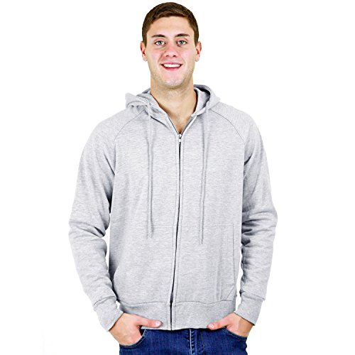 ROTHCO THERMAL LINED ZIPPER HOODIE / 2X, 3X, 4X(Navy Blue-2XL) (Thermal Hoody Lined)