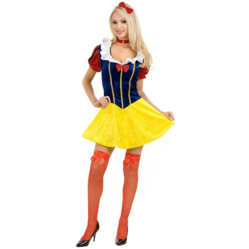 Classic Snow White Costume - Small - Dress Size 5-7 (Halloween Costum Ideas)