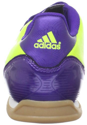 Adidas Mens F5 In Scarpe Da Calcio Indoor Elettricità / Infrarossi / Viola Anodizzato