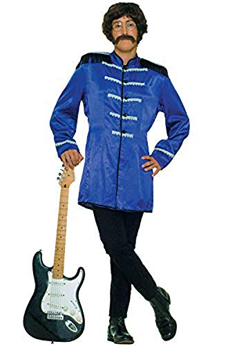 Adult's Blue Sgt. Pepper Beatles Costume Jacket]()