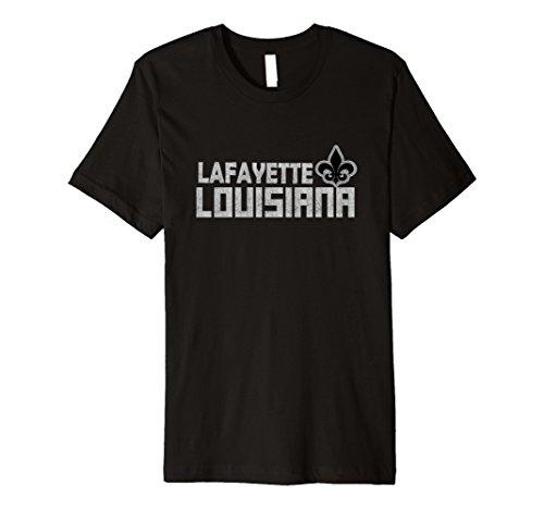 Lafayette Louisiana Fleur De Lis T-Shirt - Louisiana Lafayette Fleur De Lis