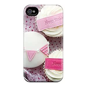 Excellent Design Happy Birthday Jacqelinela Case Cover For Iphone 4/4s