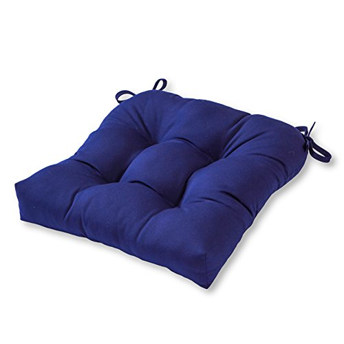 Greendale Home Fashions 20'' Outdoor Sunbrella Chair Cushion, Navy(color may vary due to screen resolution) (Patio Cushions Kohls Outdoor)